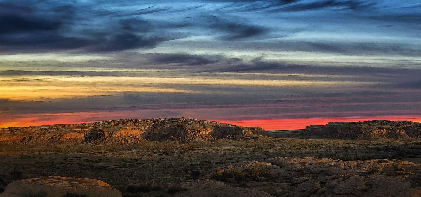 Image hotlink - 'http://skystudios.net/wp-content/uploads/2015/11/Chaco_Canyon__Twilight.jpg'